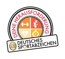"""Deutsches Sportabzeichen – Stempel """"Deine Herausforderung"""""""