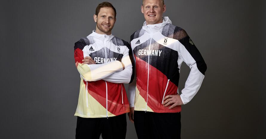 Podium Wiencek & Weinhold, Quelle: Team D/adidas
