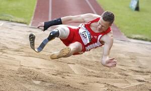 Markus Rehm kann unter Vorbehalt bei der Leichtathletik DM starten. Foto: picture-alliance