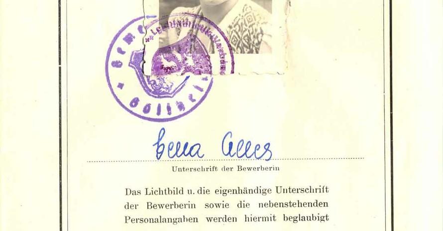 Urkundenheft für das Bundessportabzeichen (Repro: Sportbund Pfalz)