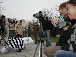 Die Sparkasse will mit dem Videowettbewerb Begeisterung für München 2018 entfachen. Foto: picture-alliance