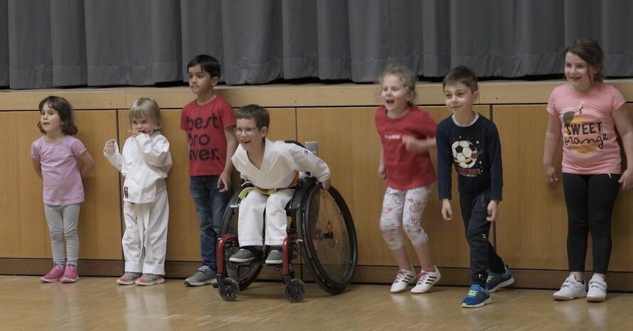 Die Kinder im GKV Eppertshausen freuen sich, wieder gemeinsam Sport treiben zu können. Foto: GKV Eppertshausen