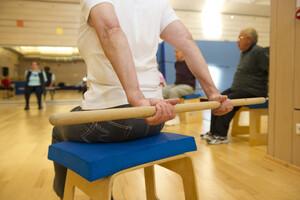 Der ärztlich verordnete Rehabilitationssport soll unter Beachtung von Schutzmaßnahmen schnellstmöglich wieder aufgenommen werden. Foto: LSB NRW