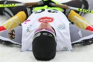 Erschöpft, aber glücklich: Die deutschen Athletinnen und Athelten haben sich zum ersten Mal bei EYOF den Spitzenplatz erobert. Foto: www.eyowf2011.cz