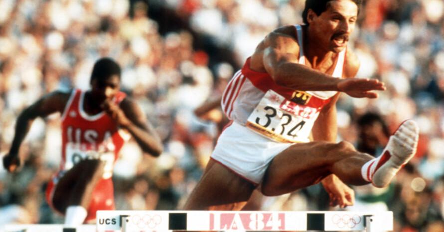 Auch der ehemalige Weltklasse-Hürdenläufer Harald Schmid ist am Wochenende in Heidelberg dabei. Copyright: picture-alliance