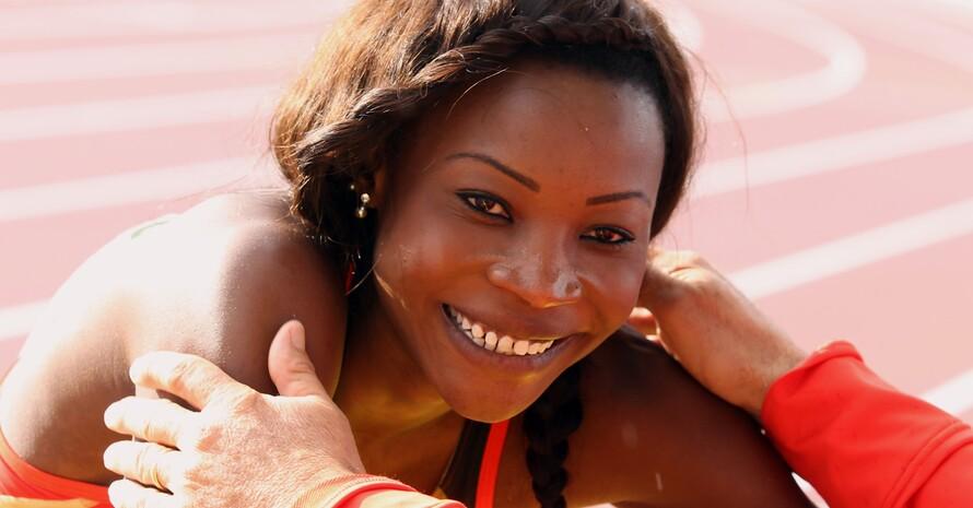 Rundum optimistisch: Sosthene Moguenara ist die beste Weitspringerin im DLV (Foto: Picture-Alliance)