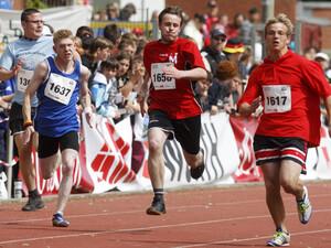 1500 Sportlerinnen und Sportler nehmen am Sportfest in Hannover teil. Foto: picture-alliance