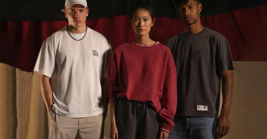 """""""United in Spirit"""" spricht eine junge, modebewusste Zielgruppe an. Foto: Asphaltgold"""