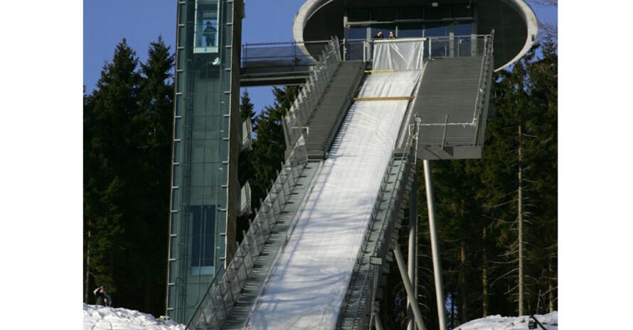 """Die Skisprungschanze """"Mühlenkopf"""" im hessischen Willingen wurde mit dem IOC/IAKS-Award ausgezeichnet. Copyright: picture-alliance/dpa"""