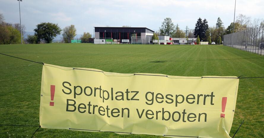 LSB und DOSB fordern, die Sportplätze wieder zu öffnen. Foto: picture-alliance