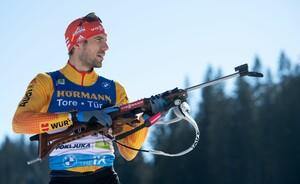 Arnd Peiffer gewann bei sämtlichen zehn Weltmeisterschaften seiner Karriere Medaillen. Foto: picture-alliance