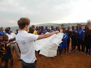 Der Nachwuchssportler Sven Ritgen ist in Ruanda im Einsatz. Foto: privat