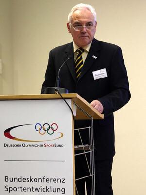 DOSB-Vizepräsident Walter Schneeloch