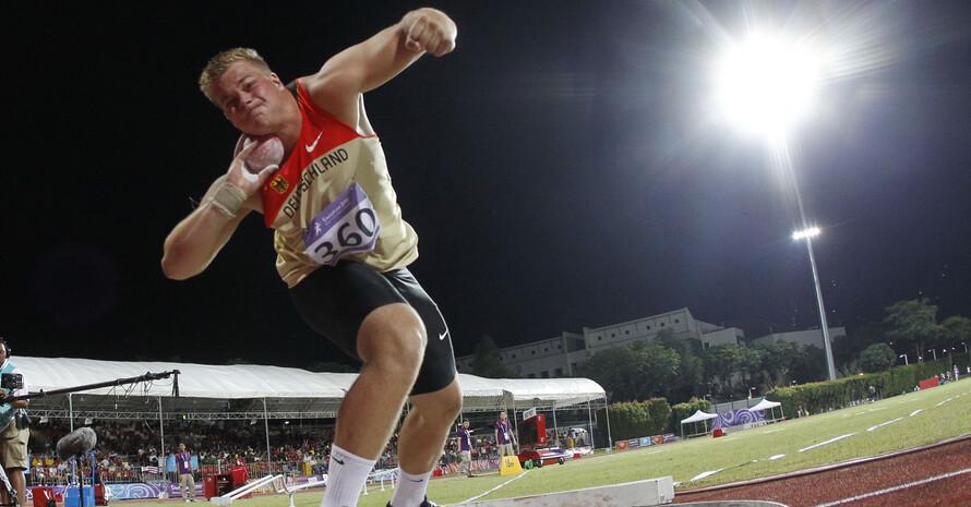 Dennis Lewke im Wettkampf, Foto: SYOGOC