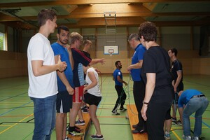 Bunter Sport in der SpVgg Roth. Foto: Verweyen/IDS