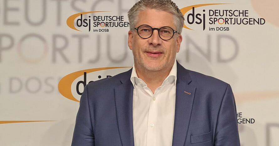 Stefan Raid steht seit gestern (29.April 2021) an der Spitze der Deutschen Sportjugend. Foto: dsj