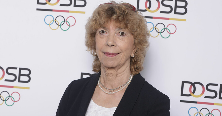 Prof. Dr. Gudrun Doll-Tepper ist Vizepräsidentin für Bildung und Olympische Erzeihung im DOSB. Foto: DOS/Jörg Carstensen