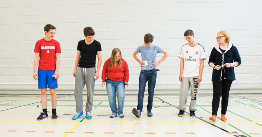 Inklusion im Sportverein funktioniert, wie dieses Beispiel zeigt. Foto: LSB NRW