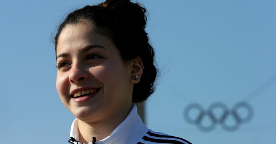 Yusra Mardini startete 2016 in Rio für das Team Refugee Olympic Athletes. Foto: Has