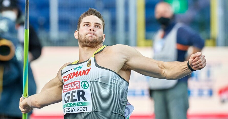 Johannes Vetter peilt in Tokio Olympia-Gold an. Foto: picture-alliance