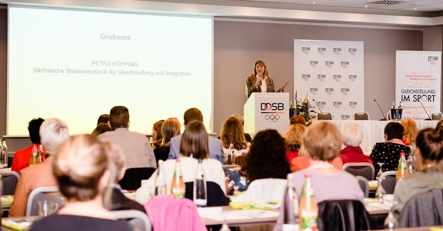 Petra Köpping, Sächsische Staatsministerin für Gleichstellung und Integration. Foto: DOSB/bewahrediezeit.de