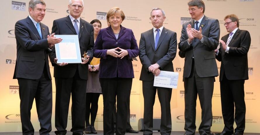 Die Sportvereinigung Ahorn aus Bayern belegte den zweiten Platz  Foto: Kai Bienert