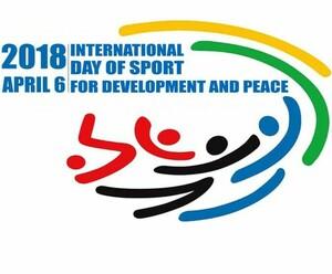 Logo Internationaler Tag des Sports fuer Frieden und Entwicklung