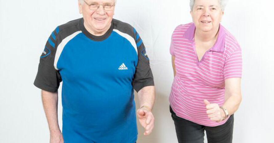 Mit dem Alltags-Fitness-Test kann ganz einfach der Fitnesszustand überprüft werden. Foto: DOSB/Ralph Fülop