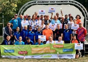 Turnier Gorodki 09 2018 Teilnehmende