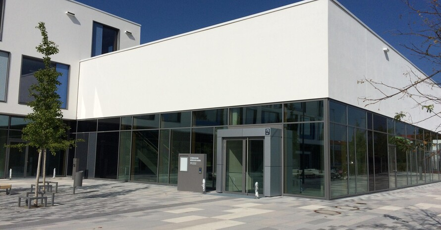 An der neuen Eliteschule des Sports in München-Nord werden Sportlerinnen und Sportler in neun Sportarten gefördert. Foto: EdS München-Nord
