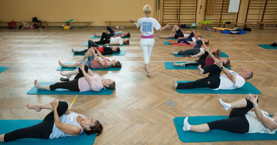 Neue Erkenntnisse belegen positive Effekte von körperlicher Aktivität in der Krebsprävention- und Nachsorge. Foto: DOSB