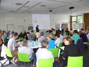 Über 80 Teilnehmerinnen und Teilnehmer waren bei der Auftaktveranstaltung in Frankfurt dabei. Foto: DOSB