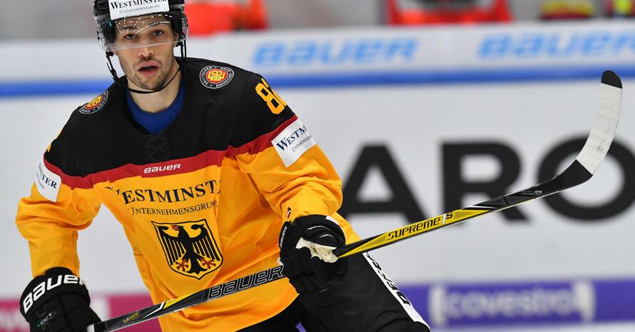 Sinan Akdag wird in PyeongChang das Team Deutschland im Eishockey unterstützen. Foto: picture-alliance