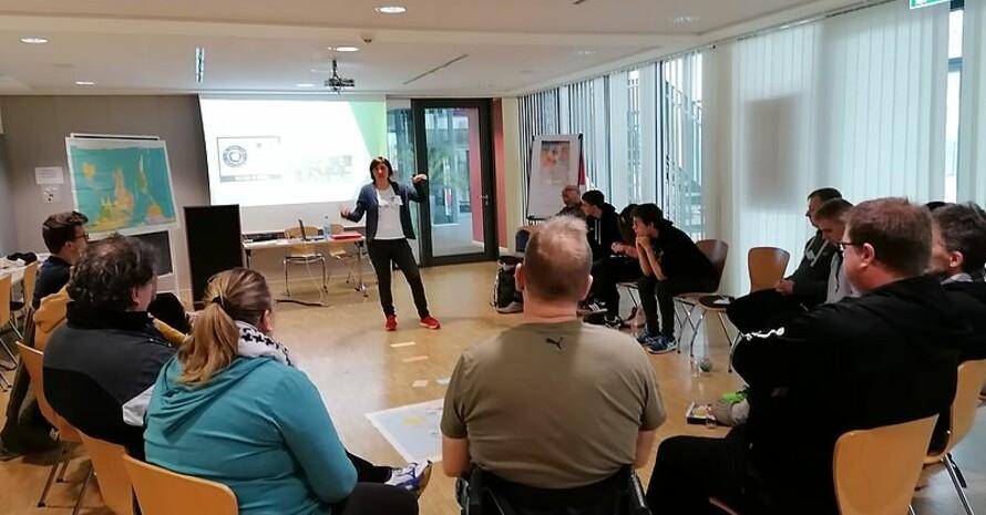 Theorie und Praxis im dreitägigen Workshop Quelle: F. Peschke