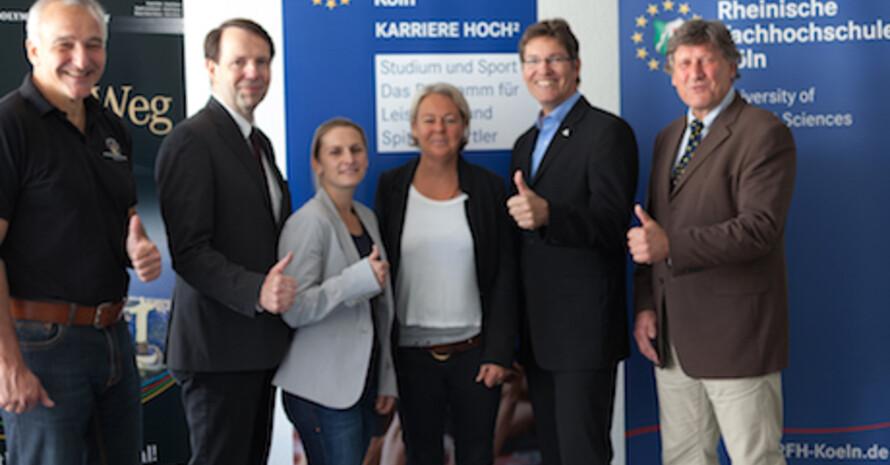"""RFH Kooperation """"Partnerhochschule des Spitzensports"""""""