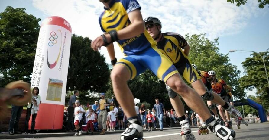 Skater-Rennen ist ein Beispiel für eine Initiative, die im Wettbewerb zählt und Punkte bringt. Foto: Mission Olympic