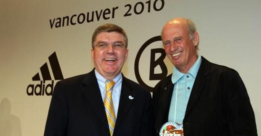 Thomas Bach und Willy Bogner sind für die kommenden Monate optimistisch. Copyright: picture-alliance