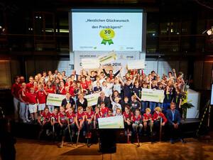 Die Sieger der Jubiläumsveranstaltung in Berlin.