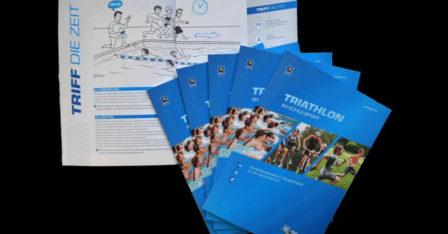 Die Schulsportbroschüre bietet Materialien und Arbeitsblätter, die die Lehrkraft unterstützen. Foto: DTU