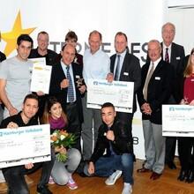 """Die Gewinner der """"Sterne des Sports"""" in Hamburg. Foto: HSB/Witters"""
