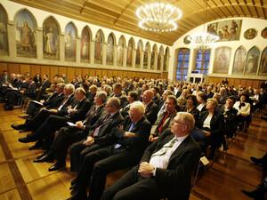 Eröffnungsveranstaltung im Frankfurter Römer