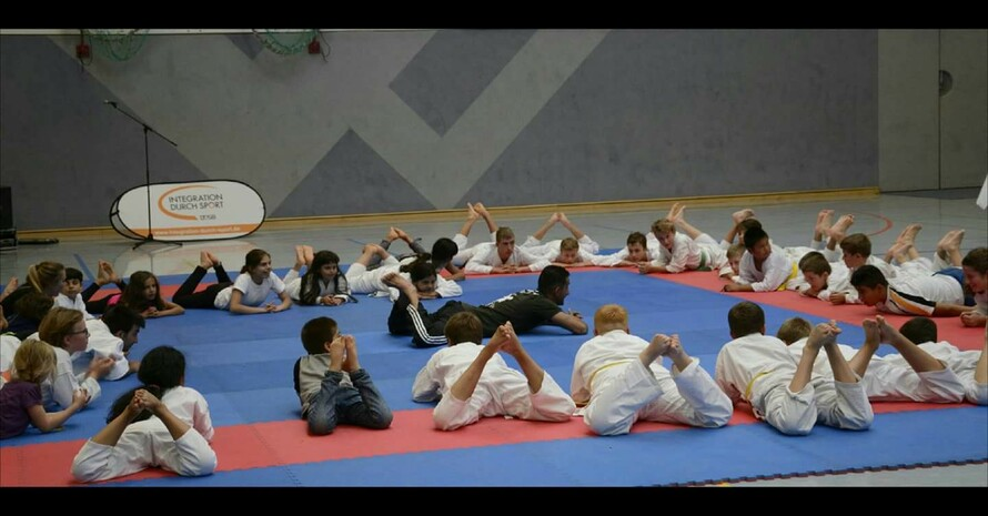 """Kids for success"" Foto: 1. Karate Club Hainichen e.V."