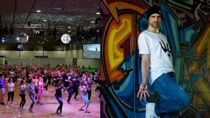 """Am 25. September startet die #BeActive Dance Night mit dem Referenten Marcus """"Schweppy"""" Schweppe. Foto: DTB"""
