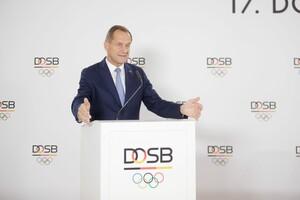 DOSB-Präsident Alfons Hörmann hat sich zum Infektionsschutzgesetz geäußert. Foto: DOSB/picture-alliance