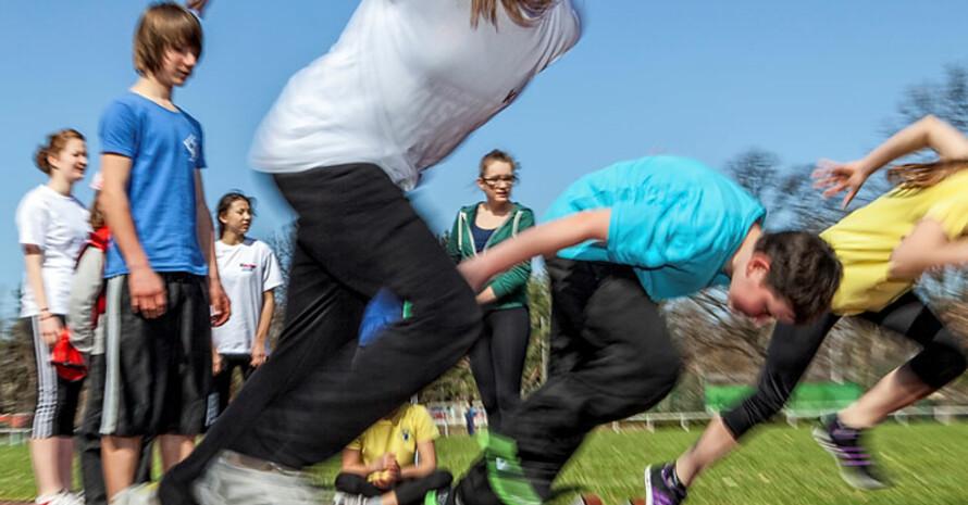"""Vereine und Schulen haben die Chance auf die Auszeichnung """"Sportlichster Verein"""" und """"Sportlichste Schule"""". Foto: wirkhaus/Meike Engels"""