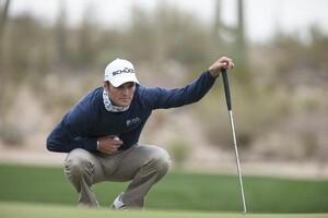 Martin Kaymer führt seit einem Turnier am 27. Februar in Arizona die Golf-Weltrangliste an. Foto: picture-alliance