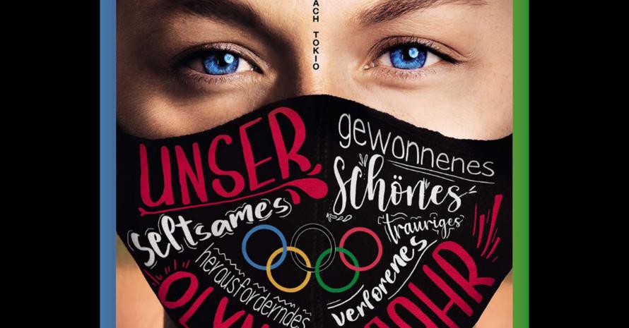 """Auf dem Magazin-Titel trägt Leichtathletin Gina Lückenkemper einen Mund-Nasen-Schutz Foto: """"20.20"""""""