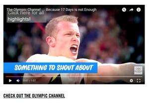 Geschichten hautnah in mehreren Sprachen präsentiert der Olympic Channel des IOC: Screenshot Olympic Channel