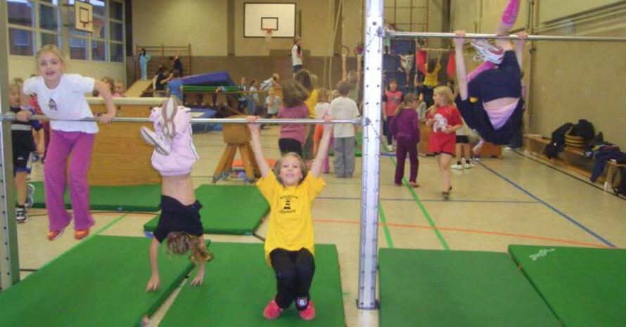 Kinder sind beim SC Lütjenburg mit viel Spaß bei der Sache. Copyright: SC Lütjenburg