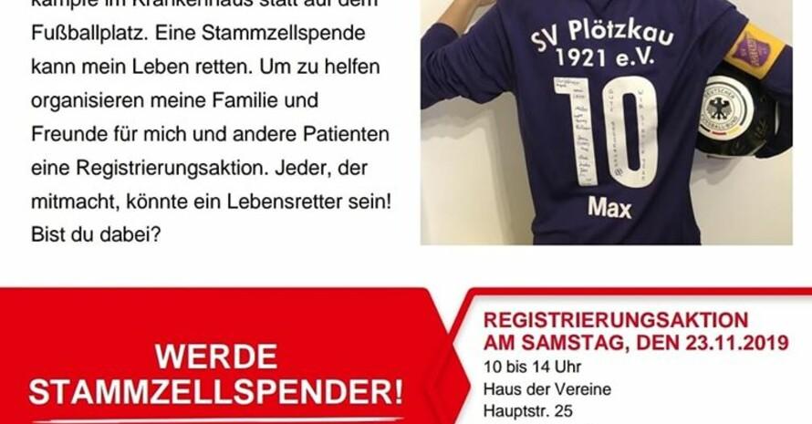 """""""Mein Team braucht mich!"""". Foto: SV Plötzkau 1921"""